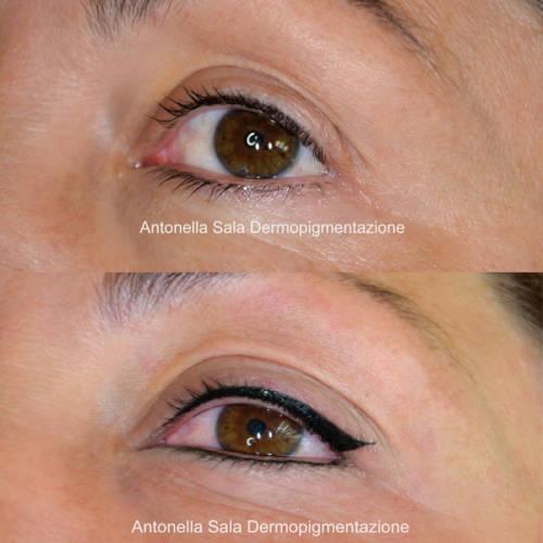 Antonella Sala_eyeliner permanente brescia